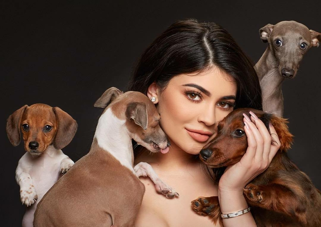 Kylie Jenner's Dogs - Dog Names and Breed Types